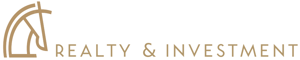 Maverick Realty & Investments Logo With Tagline